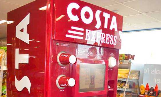 costa express machine