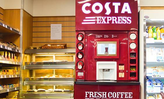 costa express coffee machine