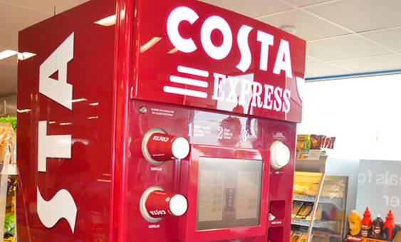 costa express machine