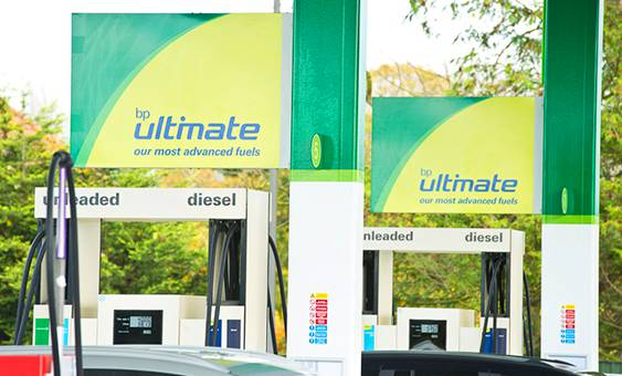 bp ultimate fuel station